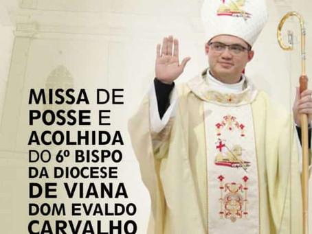 Novo bispo de Viana tomará posse neste sábado