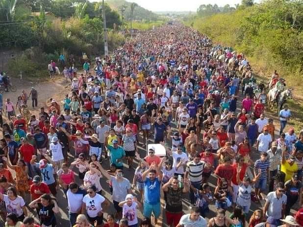 Foto: Pascom Paróquia Nossa Senhora do Rosário e São Benedito