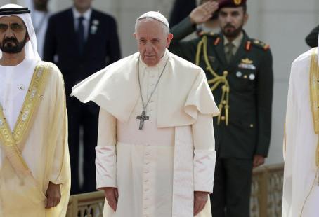 Papa Francisco despede-se do Emirado Árabes