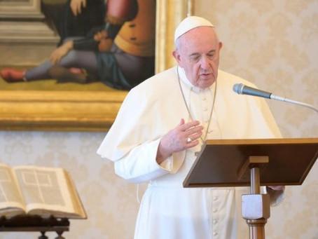O Papa: seguir o caminho de Jesus protagonista da minha vida