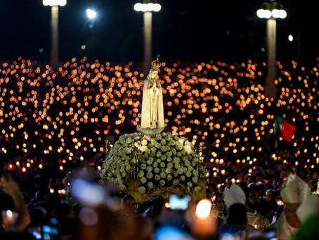 Santa Missa em honra ás aparições de Fátima em algumas paróquias da Arquidiocese