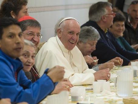 Papa encontra hóspedes e voluntários da Caritas de Roma na sexta-feira