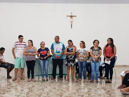 Paróquia Santa Inês apresenta nova equipe para festejo