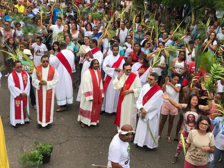 Diocese de Caxias realiza Procissão de Ramos em Timon