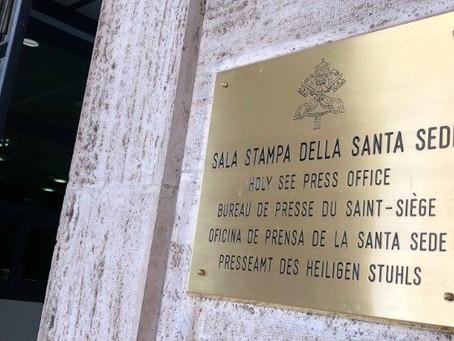 Sala de Imprensa da Santa Sé tem novo diretor