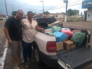 Paróquia em Buriticupu entrega alimentos em Matinha