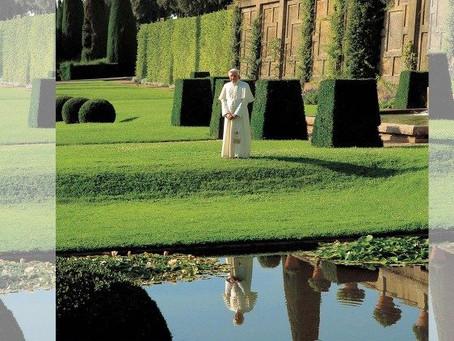 Visita surpresa de Bento XVI aos Castelos Romanos