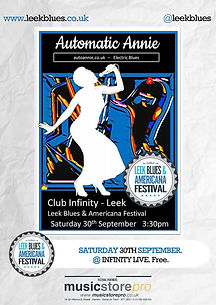 Leek Jazz & Blues Festival with Automatic Annie