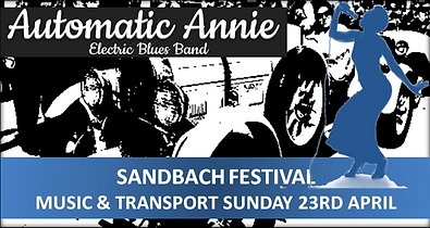 Automatic Annie at Sandbach Festival2017