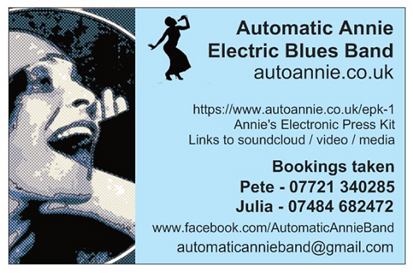 Automatic Annie Contact Card