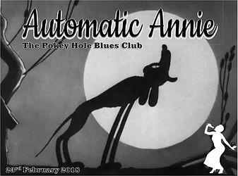 Automatic Annie at The Pokey Hole Blues Club Lichfield