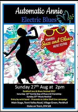 Festival Flyer Automatc Annie Jazz