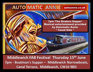Festival Flyer Automatic Annie FAB Fest
