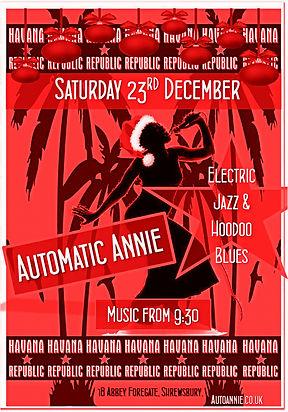 Automatc Annie xmas party
