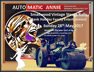Festival Flyer - Automatic Anne at Smallwood