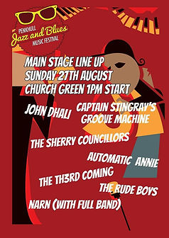 Festival Flyer Penkhull Jazz & Blues Automatic Annie