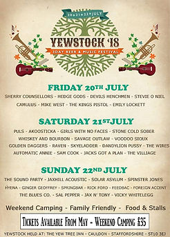 Yewstock / Automatic Annie / Music Festival / 2018