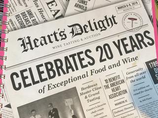 Heart's Delight 20th Anniversary