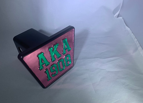 AKA-HITCH PINK GREEN LETTERS