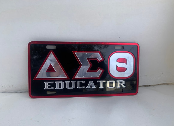DST-EDUCATOR- BLACK WITH RED RIM