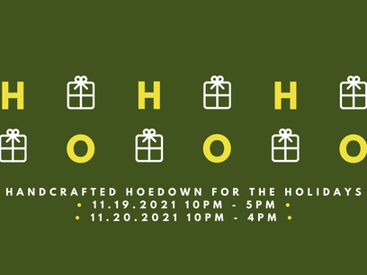 14th Handcrafted Hoedown for the Holiday's Vendor Application