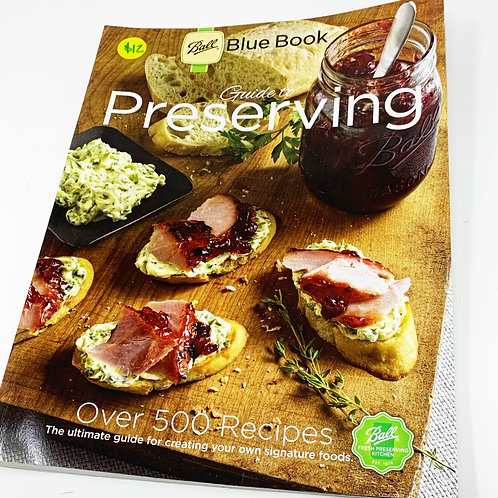 Ball Blue Book: Guide to Perserving