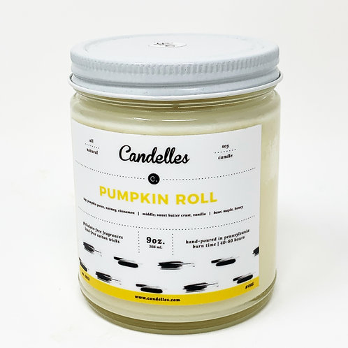 Pumpkin Roll Soy Candle