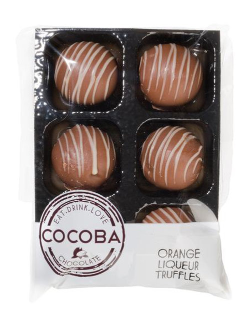 Cocoba - Orange Liquer Truffles