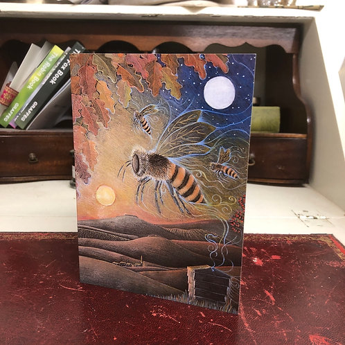 The Amber Journey Greetings card