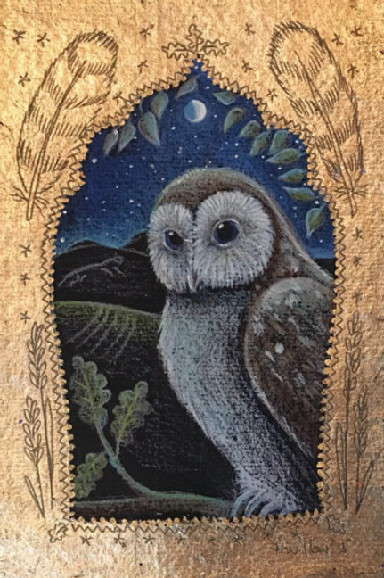 Owl in the Oak - Signed Limited Edition Print of 100