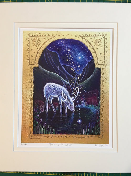 My heart is in the Highlands - Signed Limited Edition Print of 150