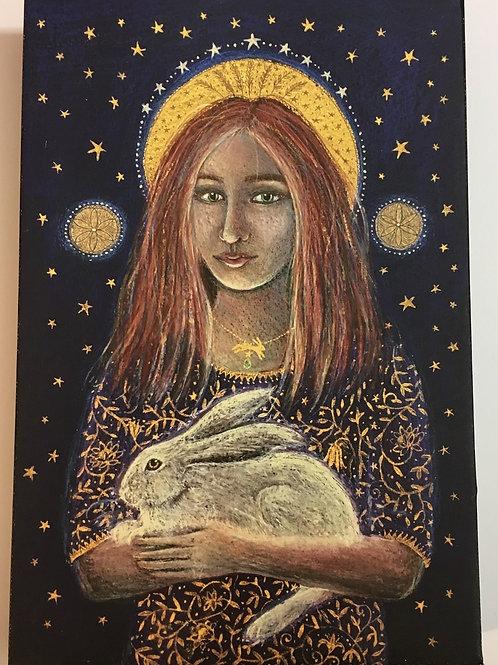 St. Melangell - Canvas boxed print