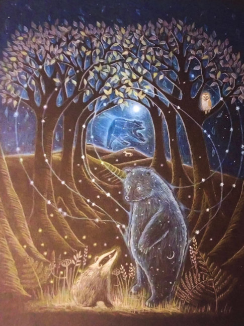 And He Was Made of Stars - Signed Limited Edition Print of 100