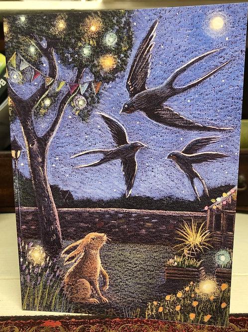The Summer Garden Greetings card