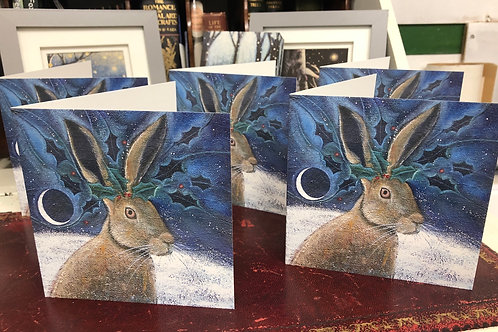 The Winter King Greetings Card Pack of 5