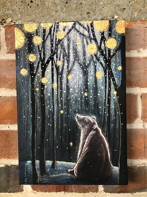 Foretelling the Snow - Canvas boxed print