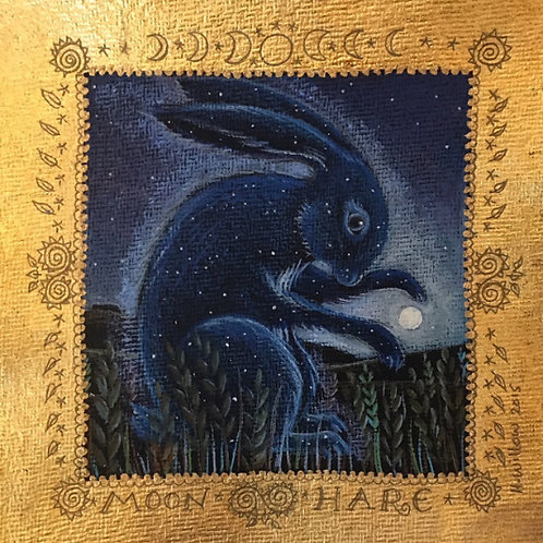 Moon Hare - Signed Limited Edition Print of 100
