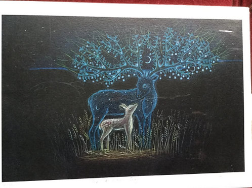 Ancestor Stag - Signed Limited Edition of 100