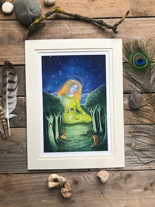 Mother of the Ancient Forest- Signed Limited Edition Print of 100