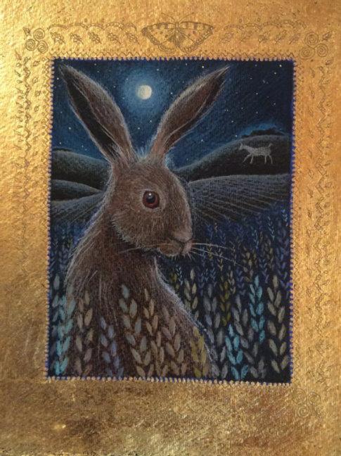 Westbury Hare - Open Edition Print