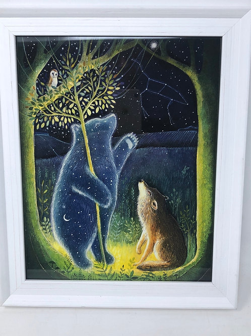 Framed picture of The Star Bear