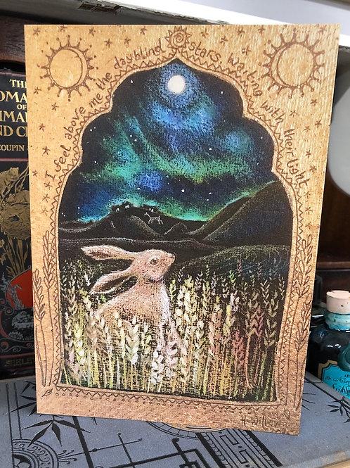 Northern Lights Greetings card