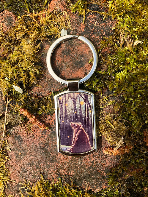 Foretelling the Snow keyring
