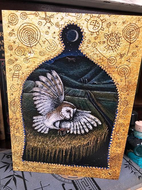 Silent Wings Greetings card
