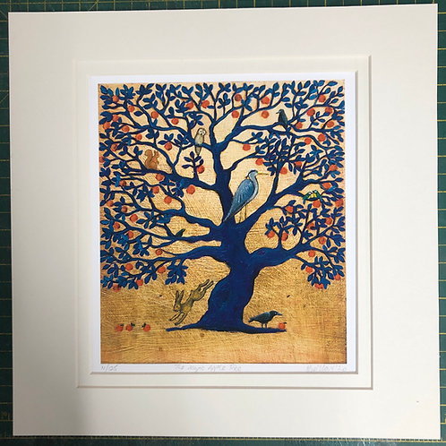 The Magic Apple Tree - Signed Limited Edition Print of 125