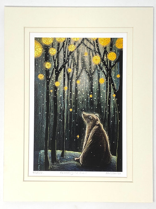 Foretelling the Snow - Signed Limited Edition Print of 150