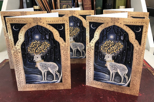 Midwinter Greetings Card Pack of 5 A6 cards