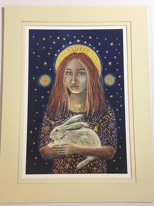 St. Melangell - Signed Limited Edition Print of 100