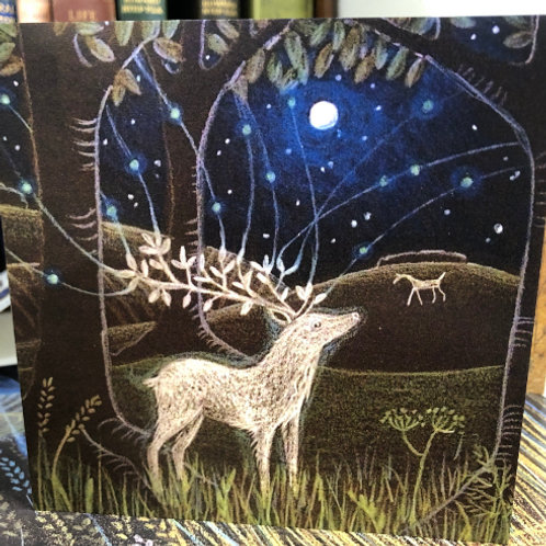 The White Stag Greetings card