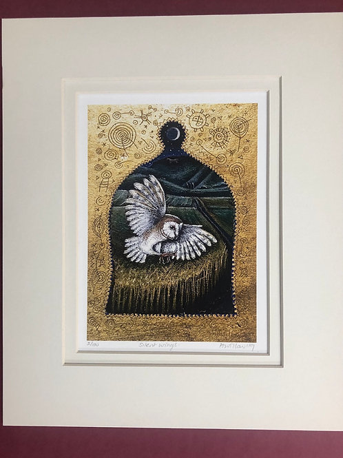 Silent Wings - Signed Limited Edition Print of 100